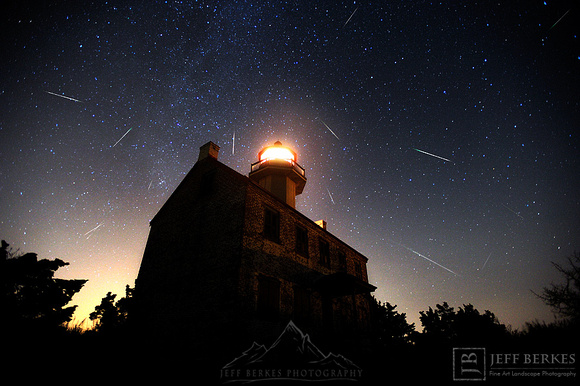 PERSEIDS OVER EAST POINT