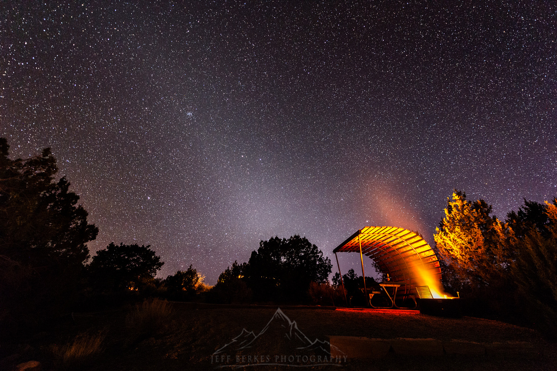 ZODIAC LIGHT AT HOVENWEEP