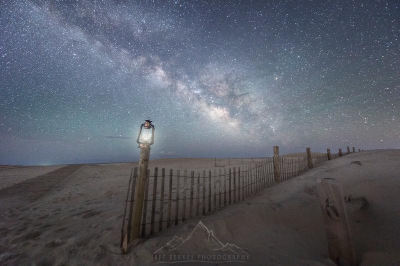 Milky Way Island Lantern