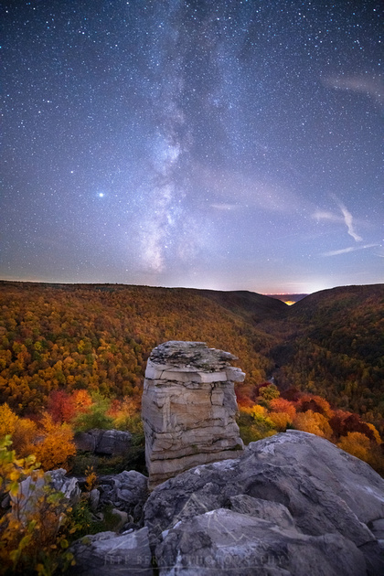 LINDY POINT MILKY WAY | WEST VIRGINIA