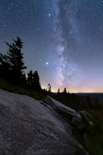 SPRUCE KNOB MILKY WAY