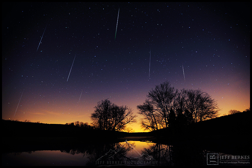 Geminid Meteor Shower Mayhem