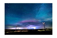 THUNDERSTORM AND NORTHERN LIGHTS | KANSAS