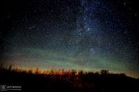 PERSEID AND AIRGLOW