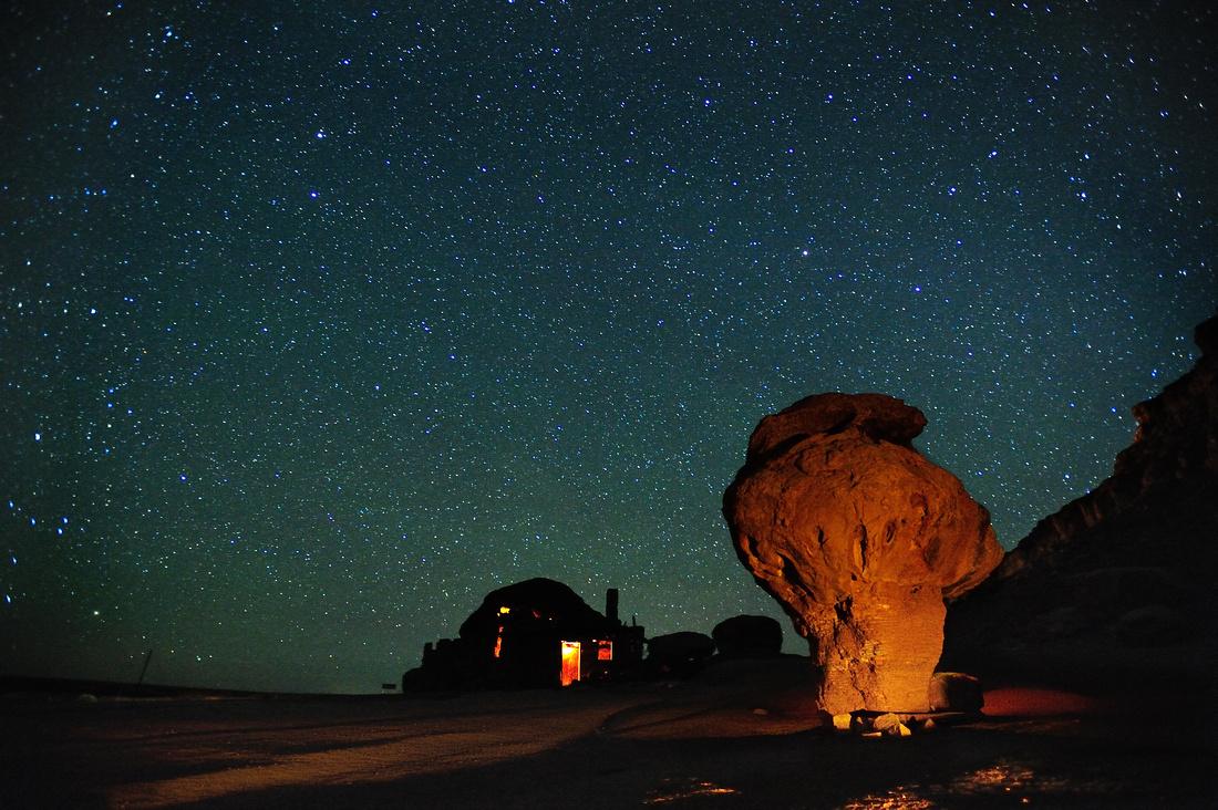 Balanced Rock & the Milkyay