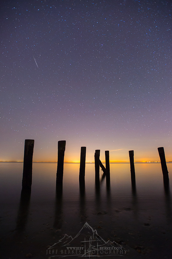 ORIONID METEOR AND DOCK | OCTOBER 2017